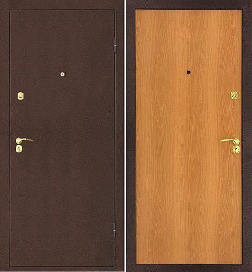 стандарт стальной входной двери